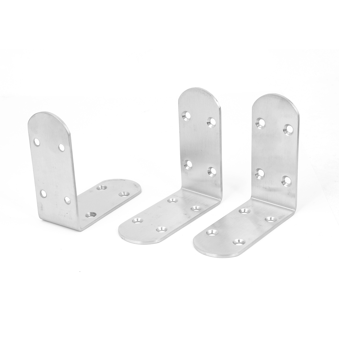 Furniture Shelf Support Right Angle Joint Bracket Brace Hardware Fitting 88x88mm 3pcs