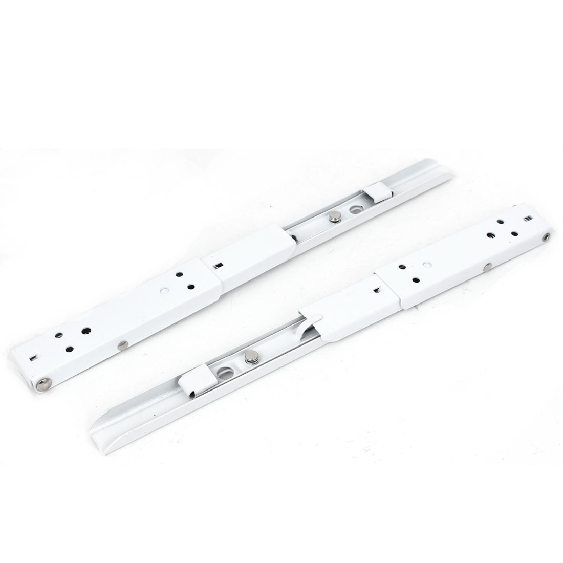 Shelf Bench Table 335mm Long Spring Loaded Metal Folding Support Bracket Brace 2pcs