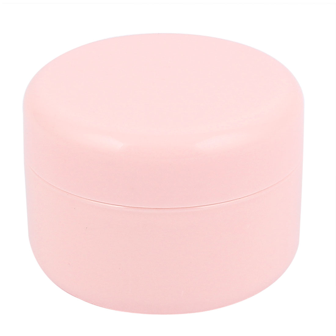 Pink Plastic Cosmetic Empty Jar Pot Face Cream Eyeshadow Skin Lotion Bottle Container 100g