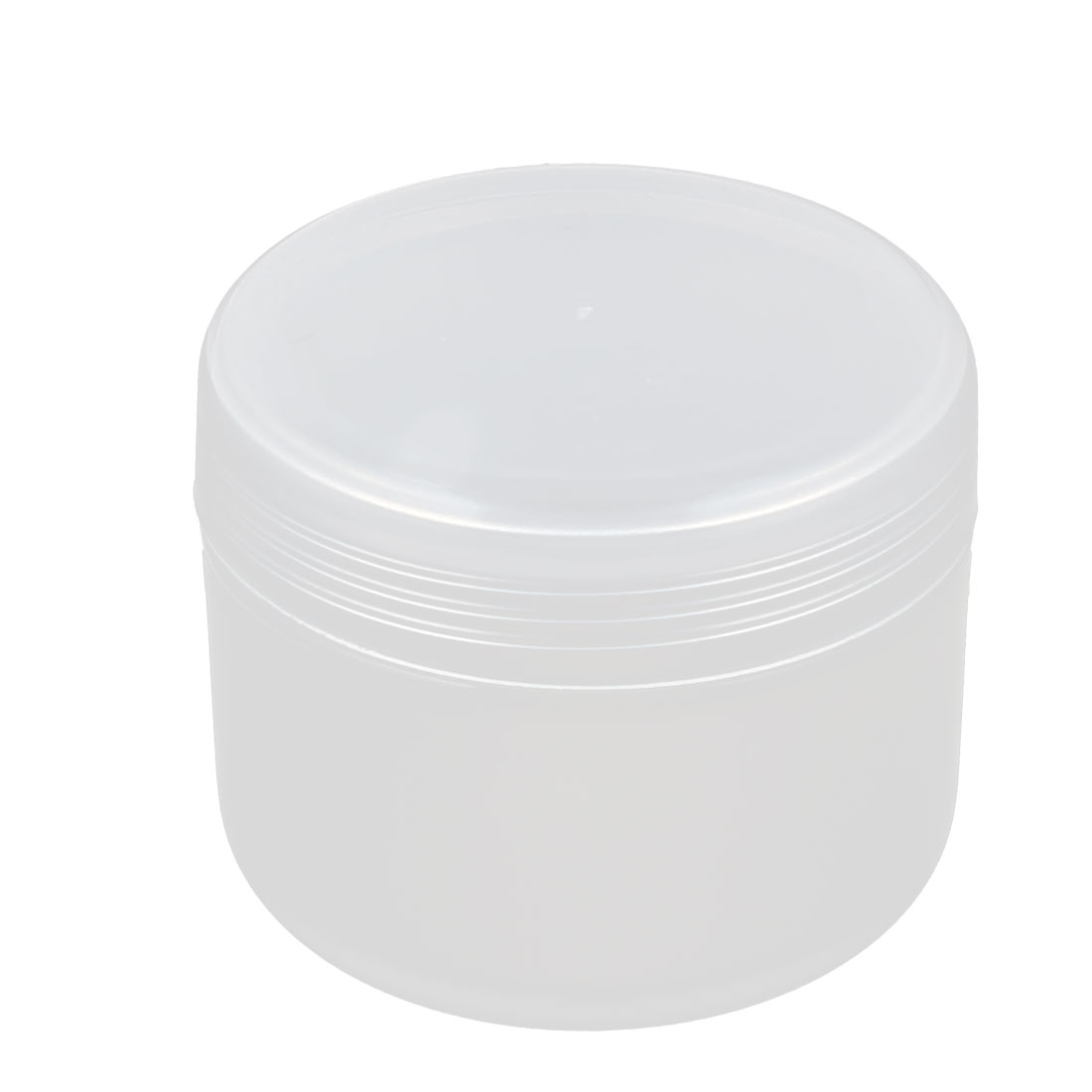 Clear Plastic Cosmetic Empty Jar Pot Face Cream Eyeshadow Moisturizer Bottle Container 50g for Women