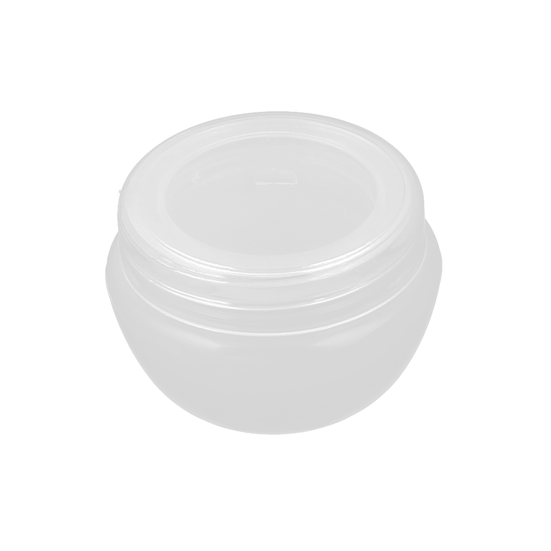 Plastic Makeup Cosmetic Empty Jar Pot Face Cream Eyeshadow Bottle Container Holder 10g Clear
