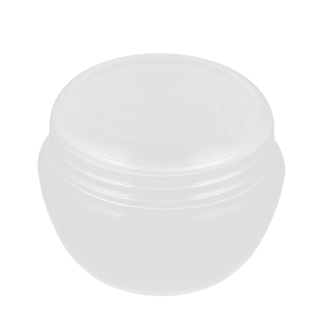 Clear Plastic Makeup Cosmetic Empty Jar Pot Face Cream Skin Lotion Bottle Container Holder 30g