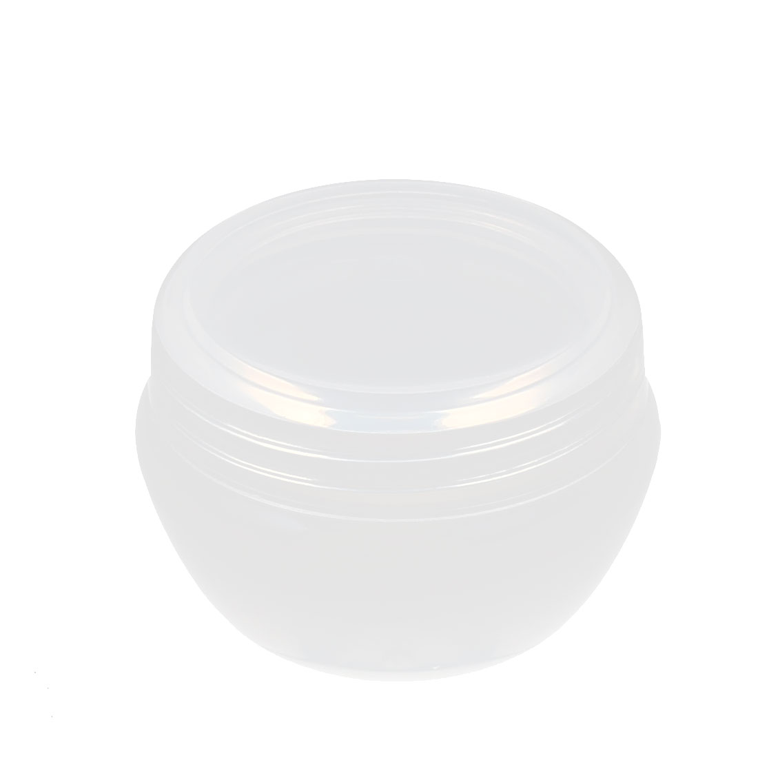Plastic Makeup Cosmetic Empty Jar Pot Face Skin Cream Eyeshadow Container Holder 20g Clear
