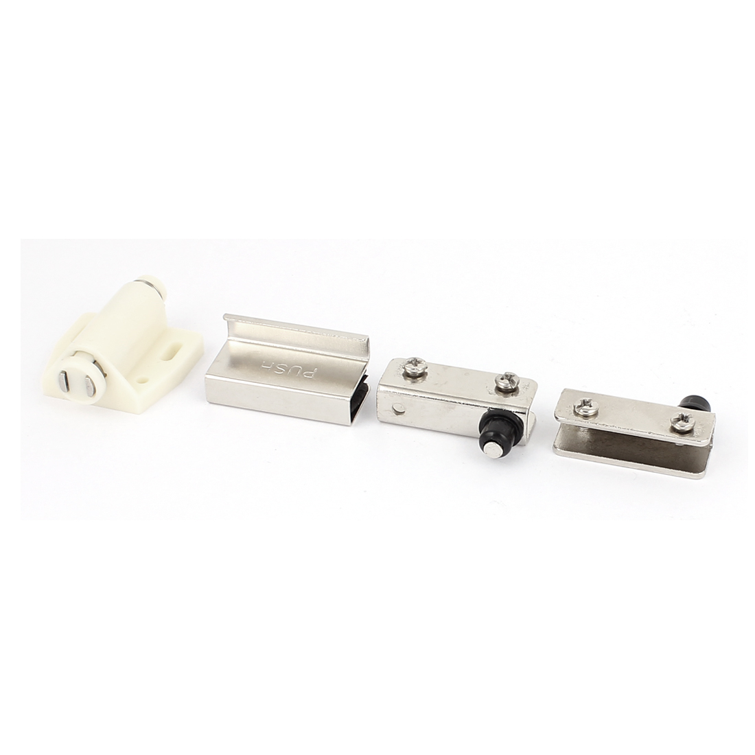 Home Door Drawer Cabinet Push to Open Single Magnet Magnetic Catch Touch Latch Clamp Set