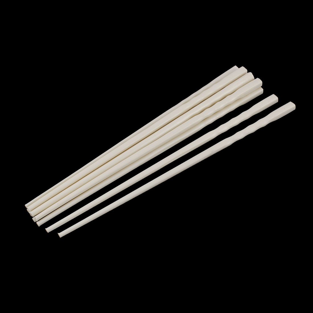 5 Pairs Chinese Traditional Home Kitchen Lunch Chopsticks Gift Beige