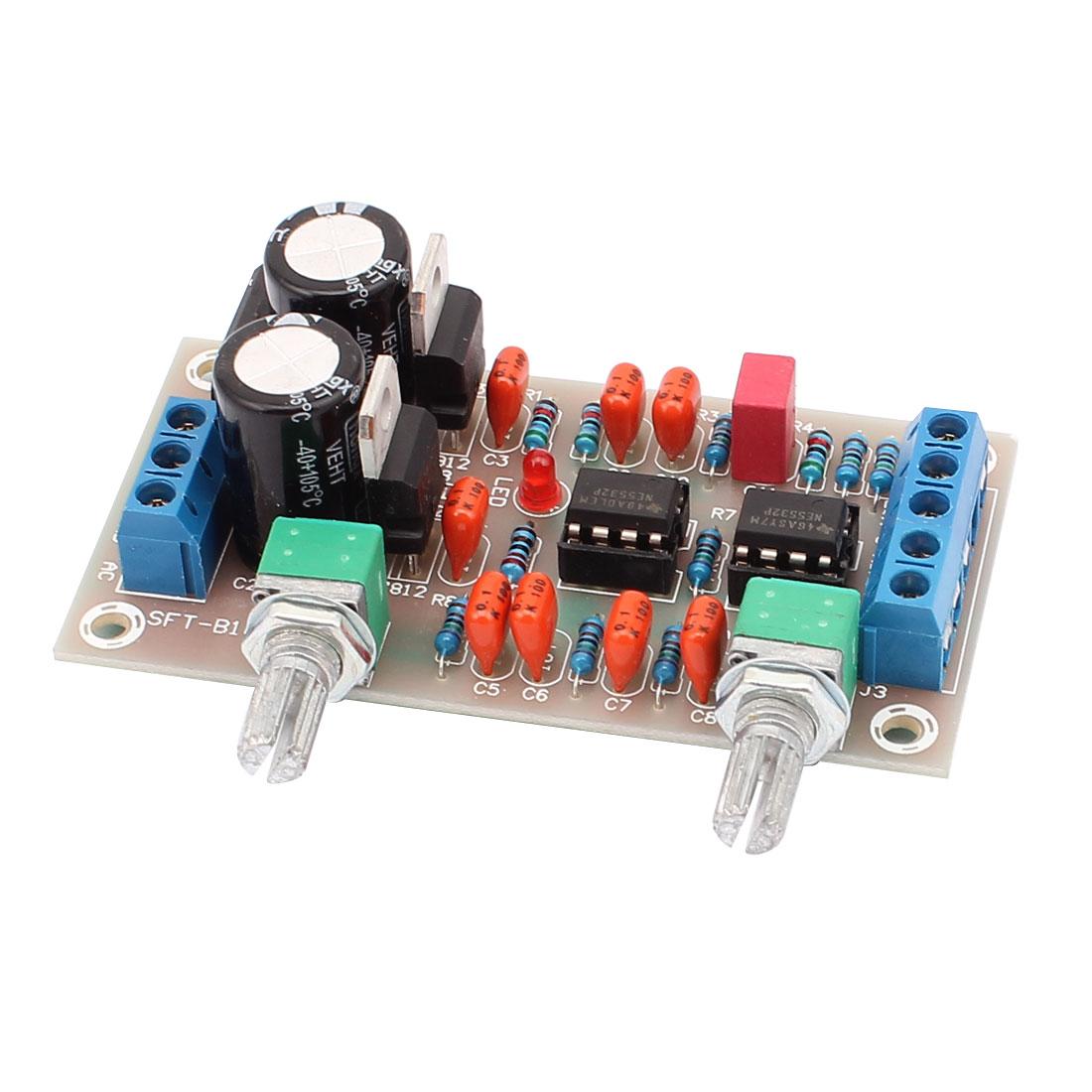 AC12-18V Subwoofer Audio Hi-Fi Car Boat Stereo Power Amplifier Board