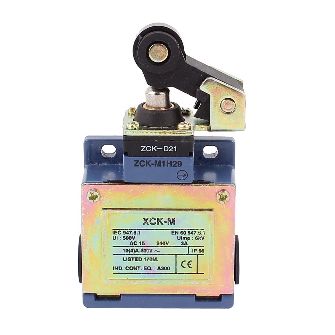 XCK-M AC15 240V 3A Roller Lever Actuator Limit Switch
