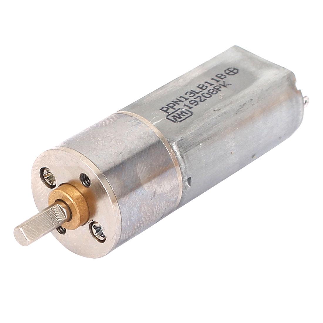 16GA 6V 200RPM Gear Motor Electric Gear Box Motor
