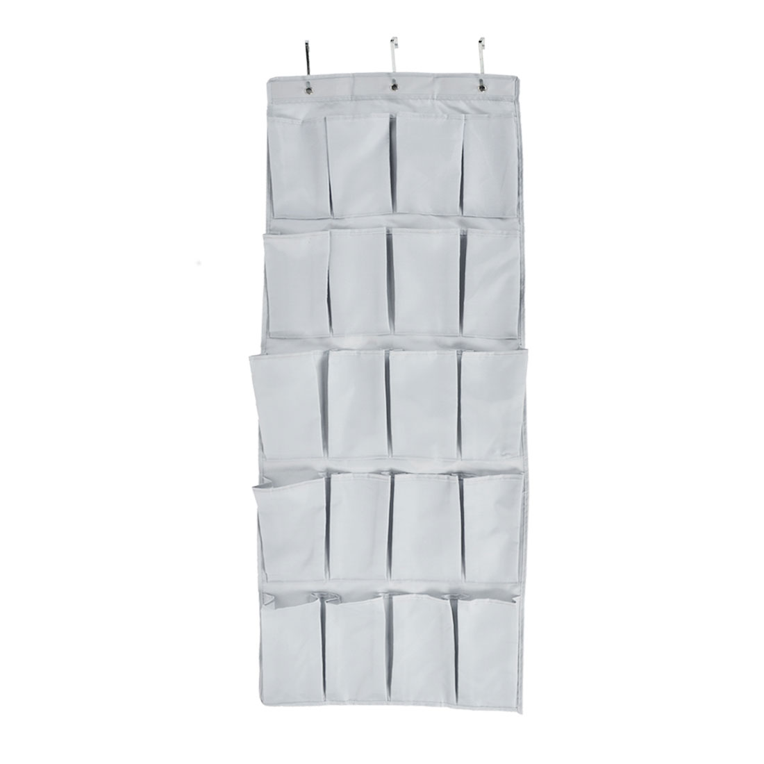 Wall Door Closet 20 Pockets Hanging Storage Bag Case Organizer Gray