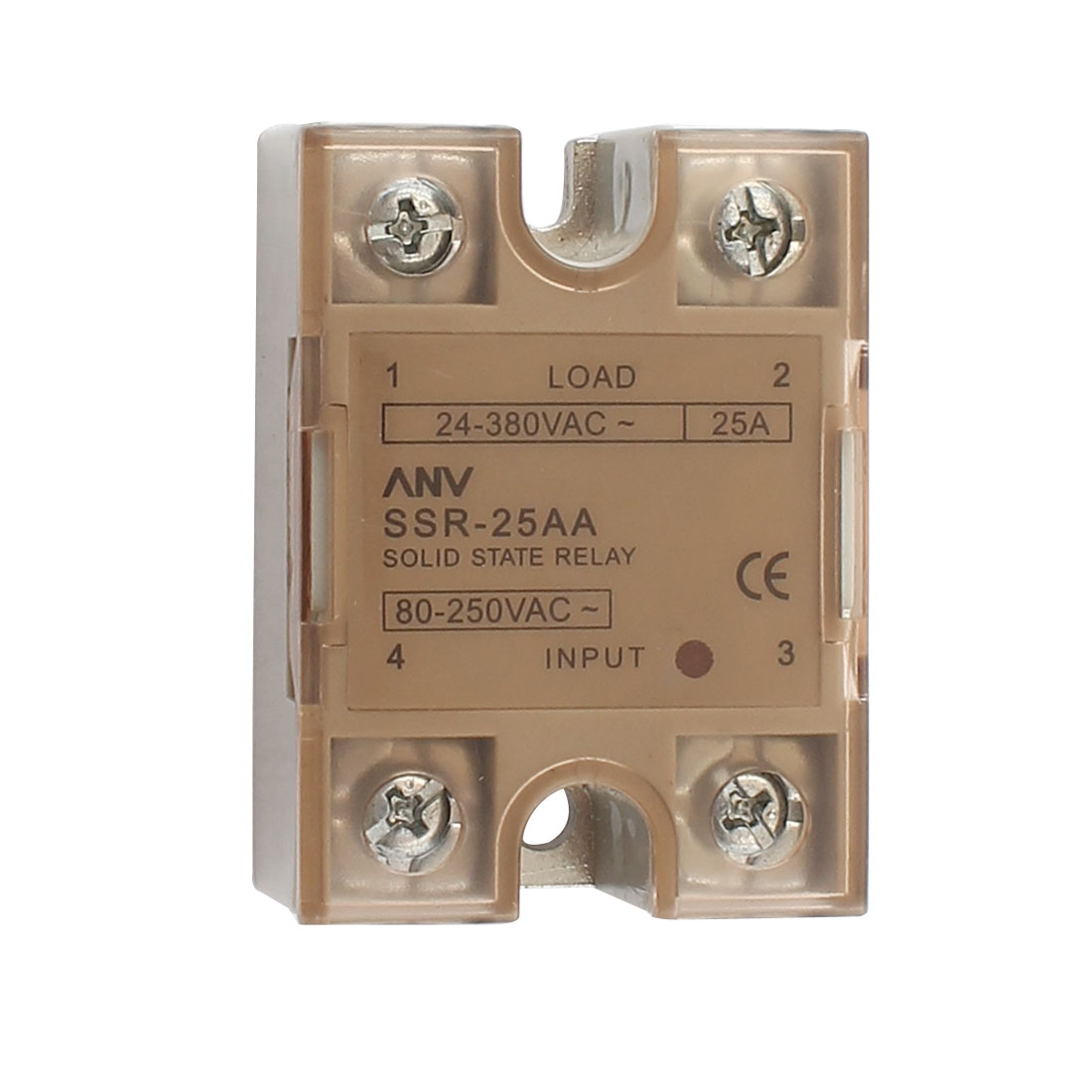 Solid State Relay Module ANV SSR-25AA AC-AC 25A 8-250VAC/24-380VAC