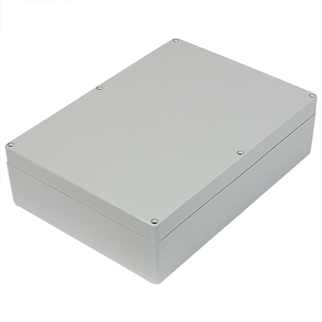 290mm x 210mm x 80mm Gray Plastic Water Resistant Enclosure Power Protection Case DIY Junction Box
