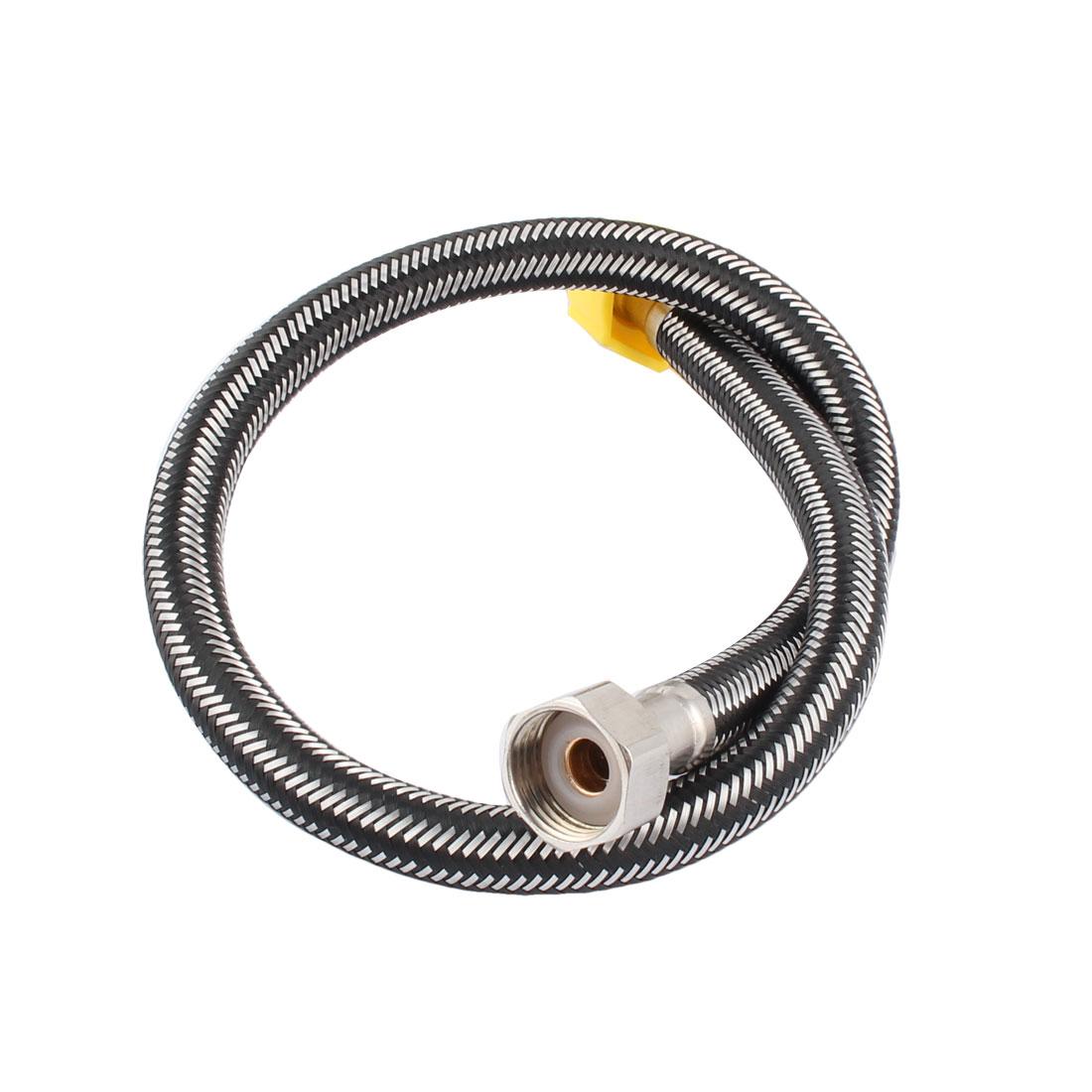 """60cm 24"""" Length Bathing Shower Water Heater Flexible Hose Tube Pipe"""
