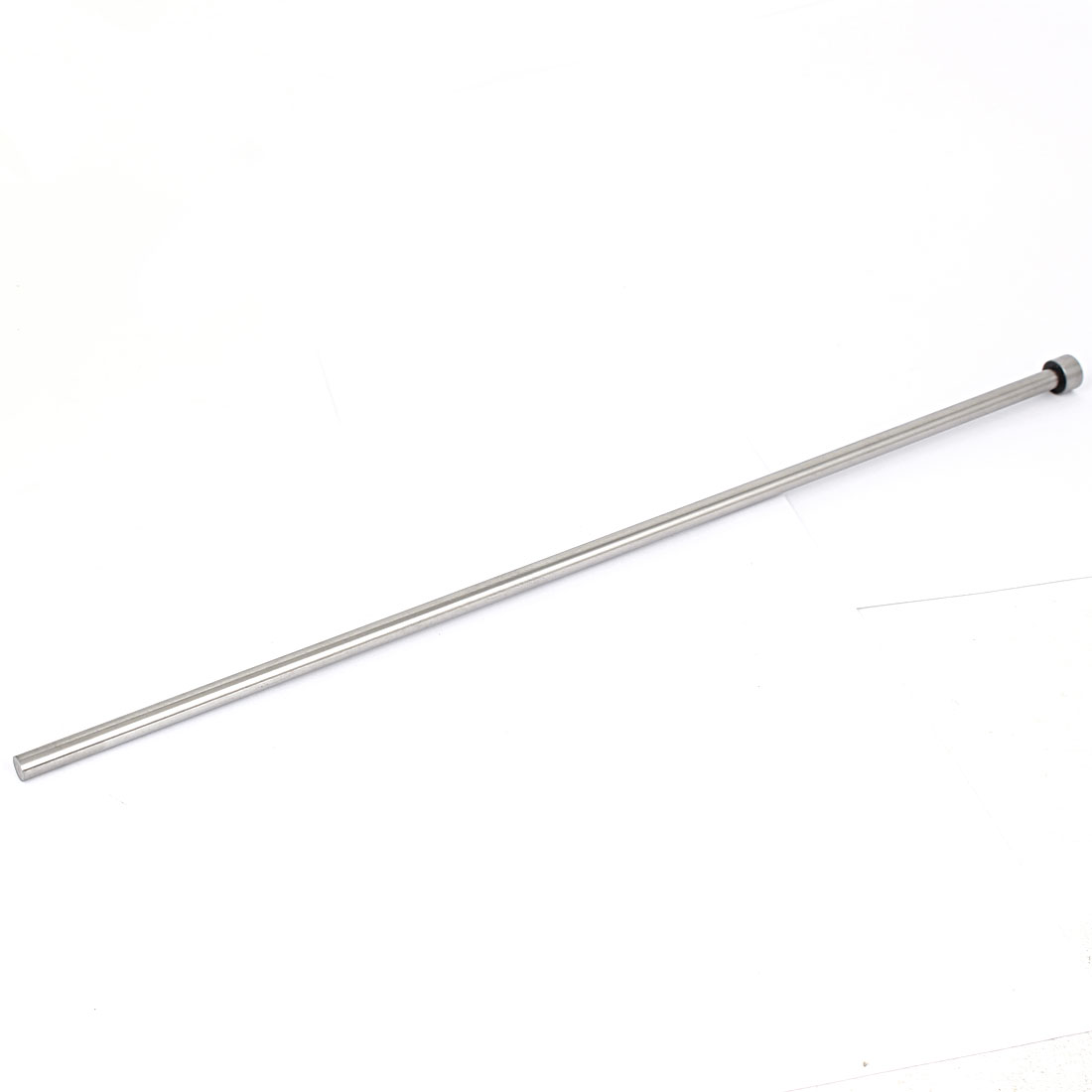 7.5mm Diameter Round Tip Steel Straight Ejector Pin Punch 400mm Long Silver Gray