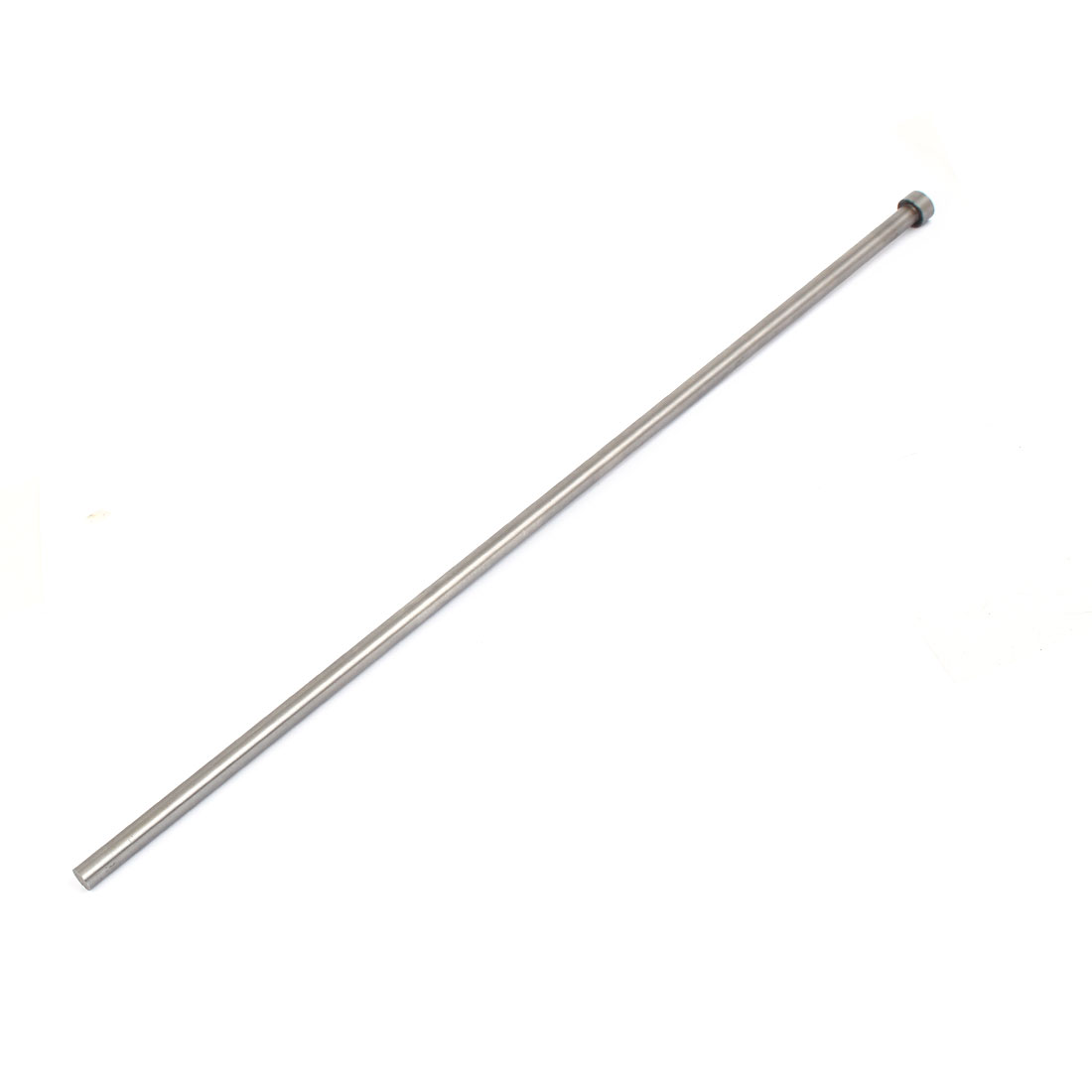 9mm Diameter Round Tip Steel Straight Ejector Pin Punch 450mm Long Silver Gray