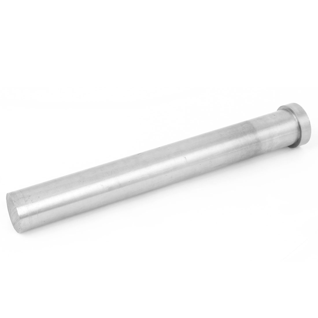 25mm Diameter Round Tip Steel Straight Ejector Pin Punch 200mm Long Silver Gray