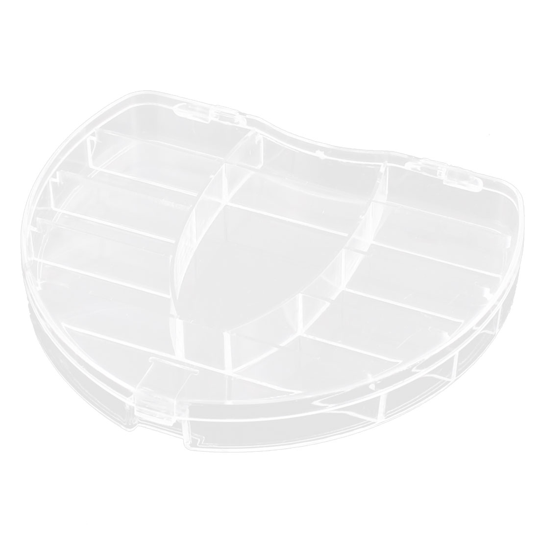 Fish Bait Cells Beads Plastic 11 Slots Transparent Storage Box Case Container