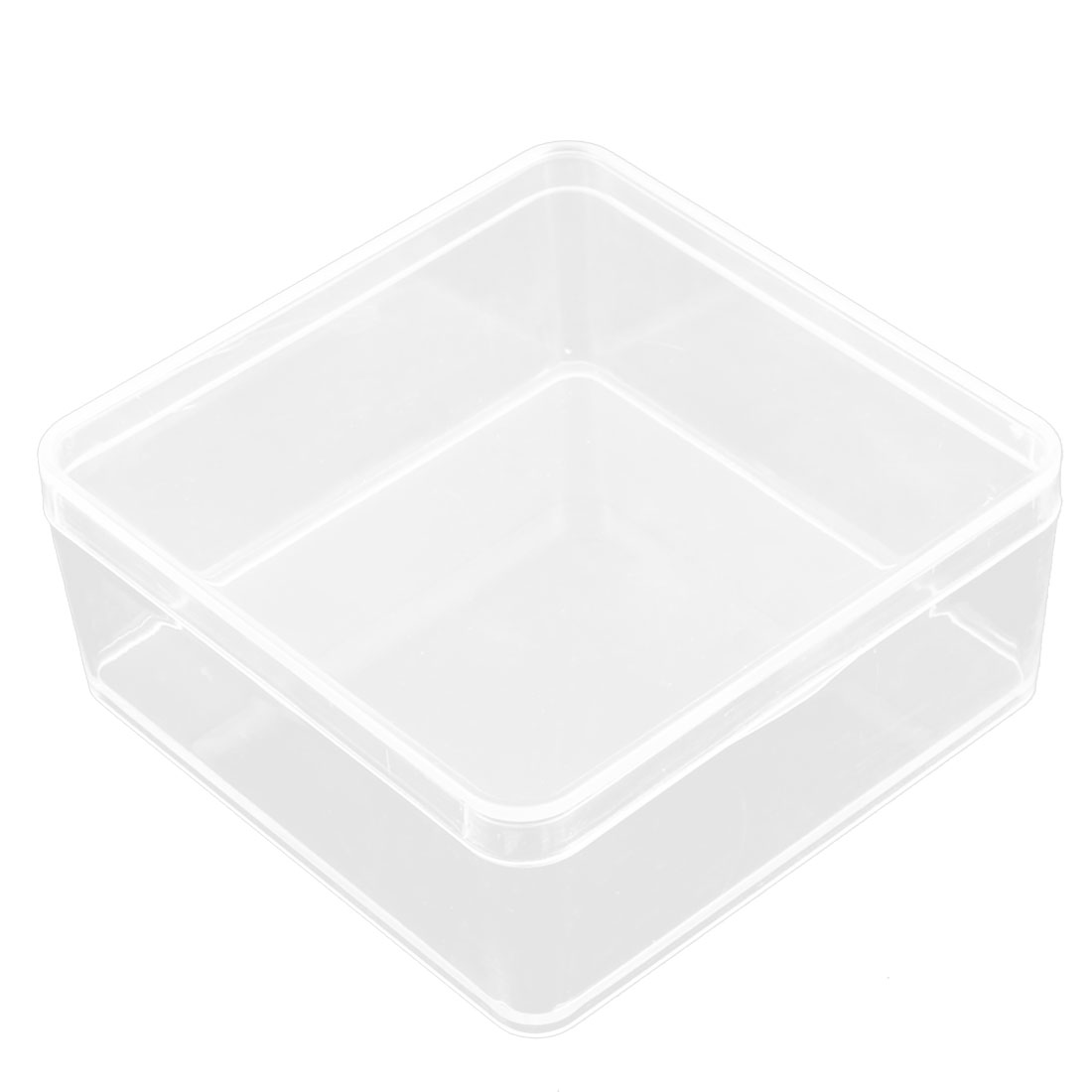 Food Sundries Plastic Storage Box Display Case Organizer Conatiner Clear