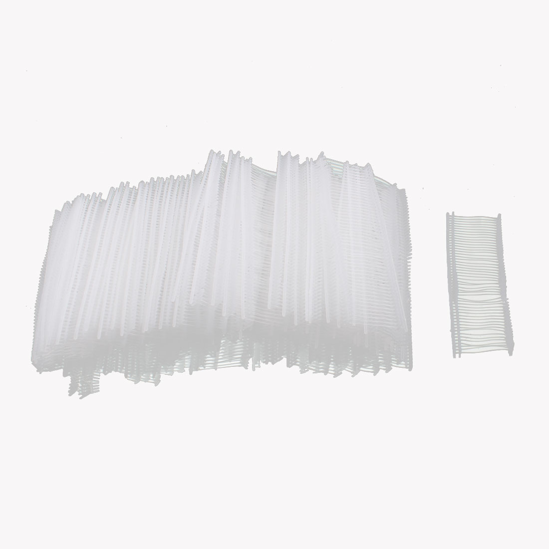 Clothes Price Lable Tag Pins Barbs Fasteners White 25mm Length 5000 Pcs