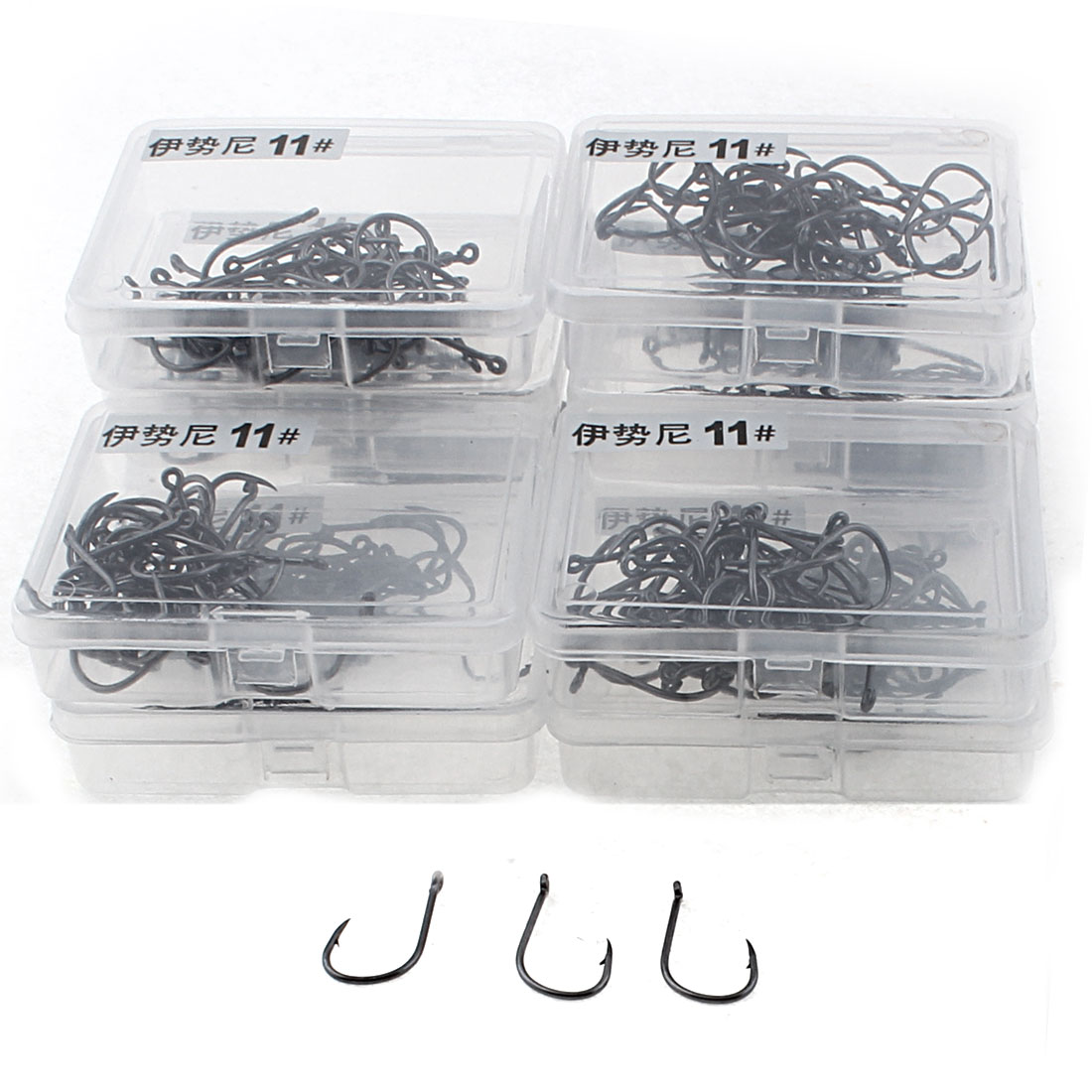 Outdoor Fisherman Angling Tool 11# Metal Fishing Hook Fishhook 450pcs