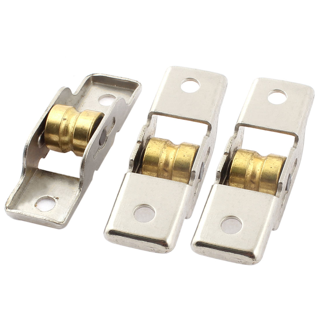 Cabinet Door Sliding Wheel Window Sash Pulley 11.5mm Single Roller 3pcs