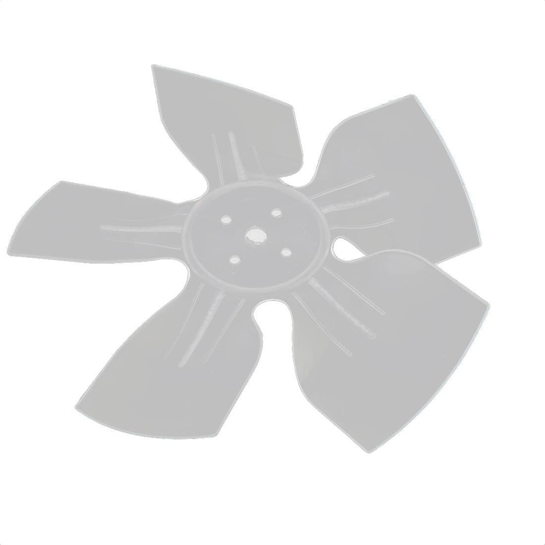 Plastic Fan Refrigertor Ventilator Exaust Motor Vanes 170mm Diameter