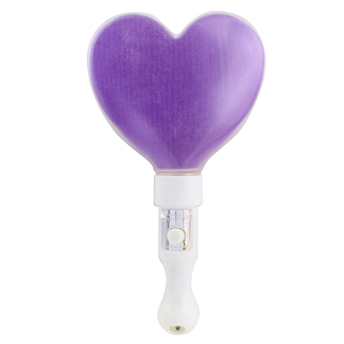 Light-Up Strobe Stick Party Flashing LED Glow Blinking Wand Purple White