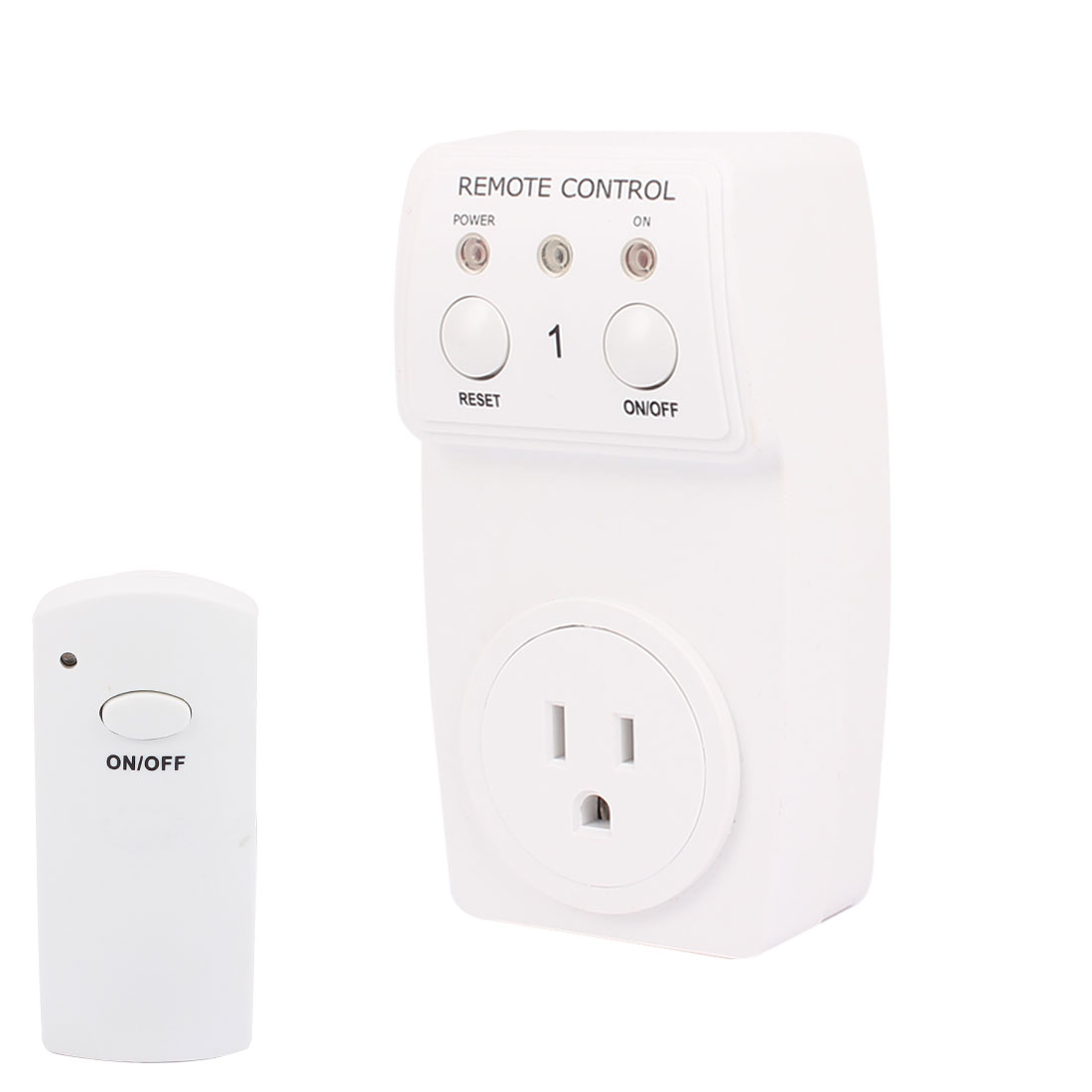 AC120V 10A US Plug Outlet Wireless Remote Control Socket Lamp Socket Switch
