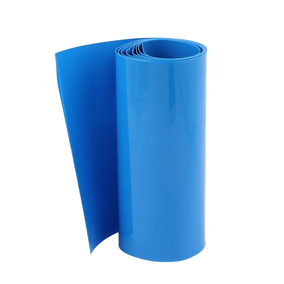PVC Heat Shrink Tubing 103mm Flat Width Heat Shrink Wrap Tube for 18650 3.3ft