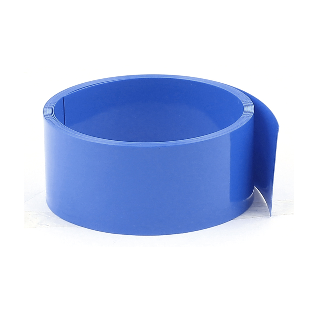 6.6ft 29.5mm Flat 19mm Dia PVC Heat Shrink Tubing Blue for 18650 Battery