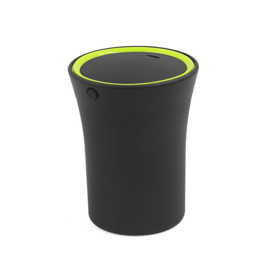 Portable Rechargeable Blue LED Light Ashtray Car Auto Cigarette Ash Holder Cup
