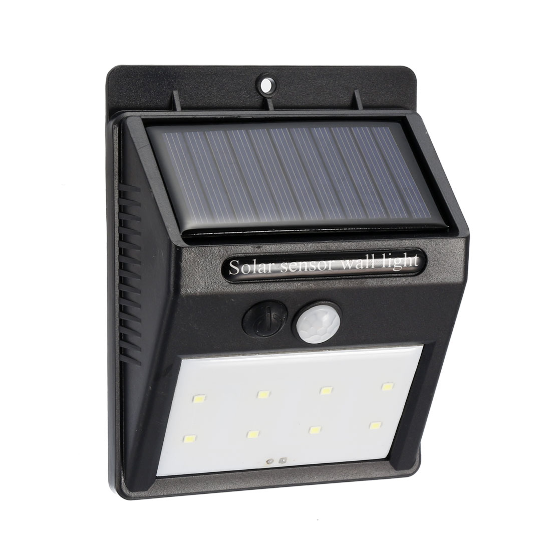 LED Solar Light PIR CDS Motion Sensor Lamp 8 LEDs 80 Lumens Waterproof Wireless for Walkway Garden Yard