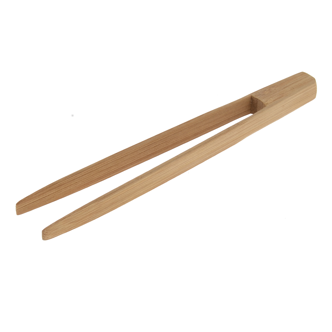 Household Kitchen Bamboo Food Cake Bread Tongs Clamp Clip 20cm Length