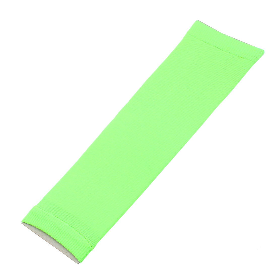 Gym Fitness Elastic Sleeve Protective Elbow Arm Support Guard Brace Bright Green