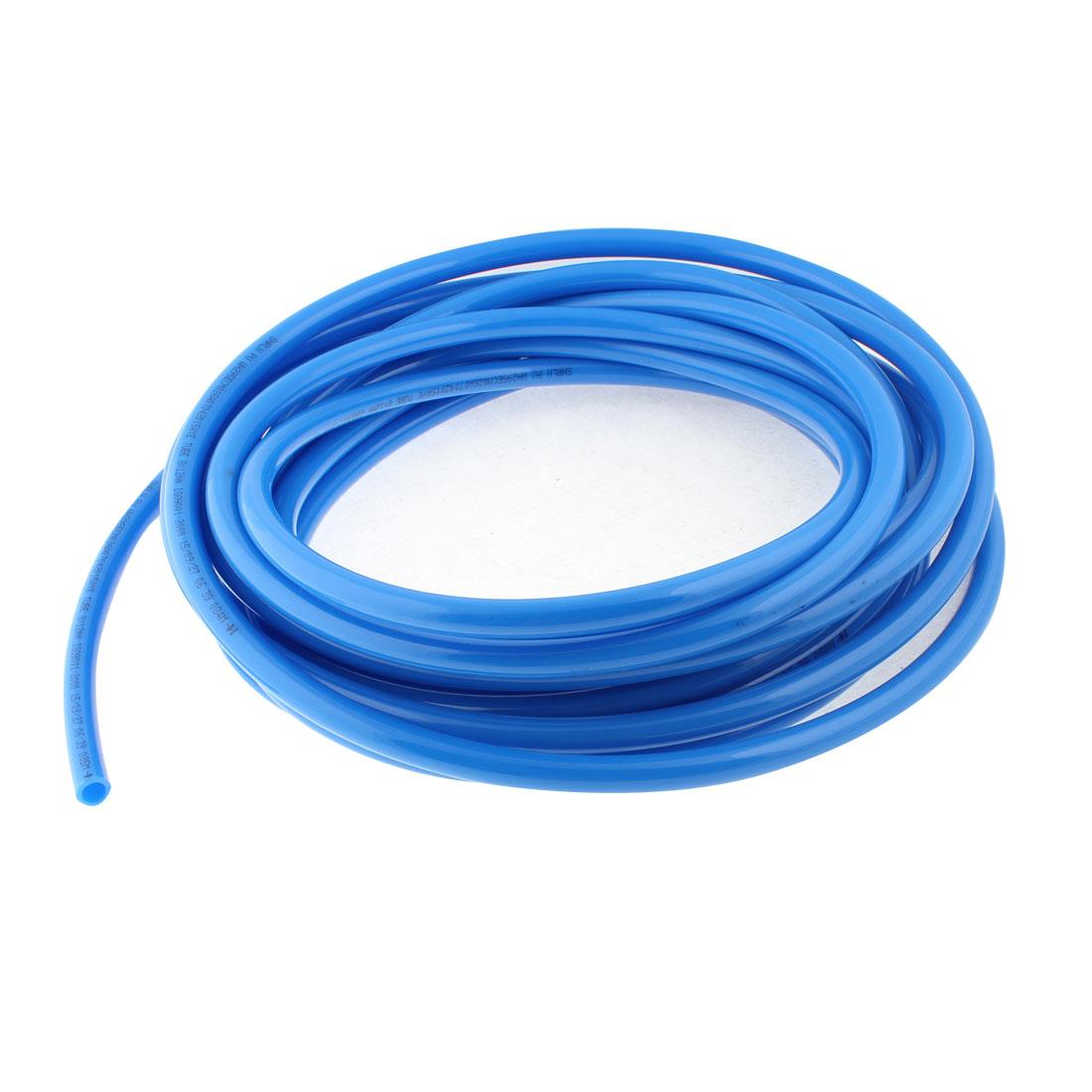 10M 33Ft Length 12mmx8mm Blue Air Compressor Pneumatic Hose Polyurethane PU Pipe Tube Tubing