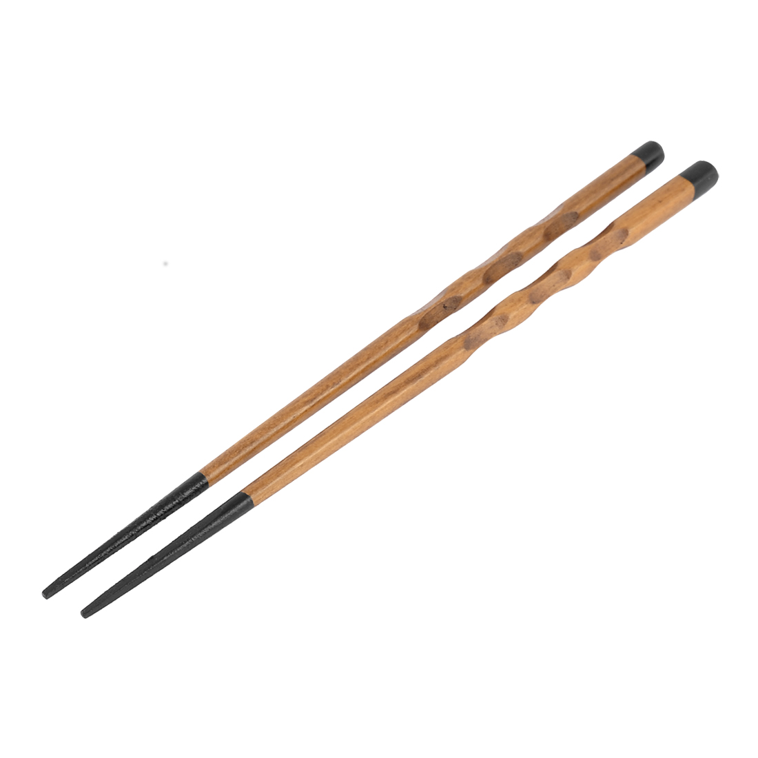 Kitchen Resterant Chinese Traditional Wooden Non-slip Chopsticks 9'' Long Pair