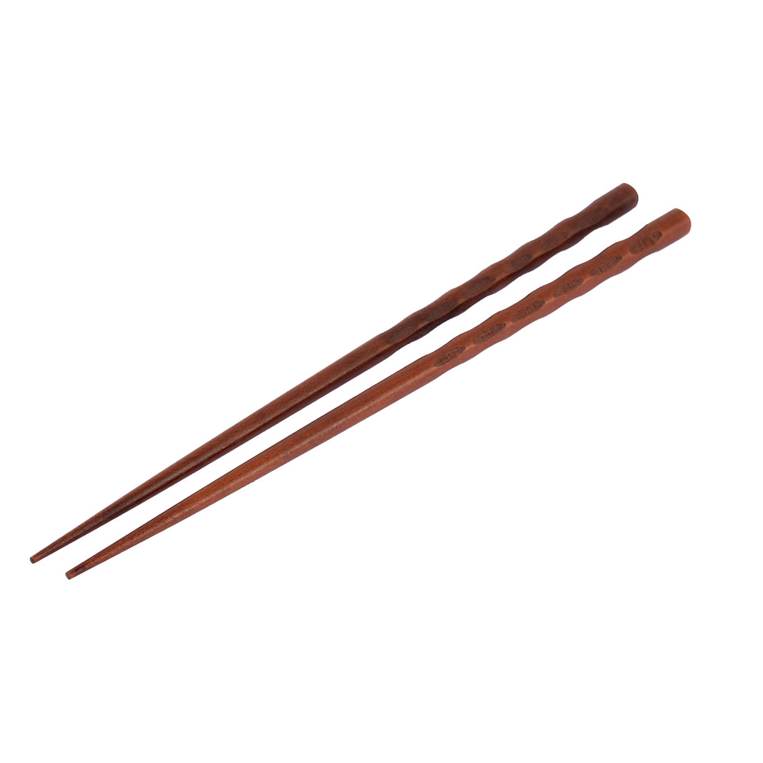 Kitchen Resterant Tableware Noodle Wooden Chopsticks Brown 9'' Long Pair