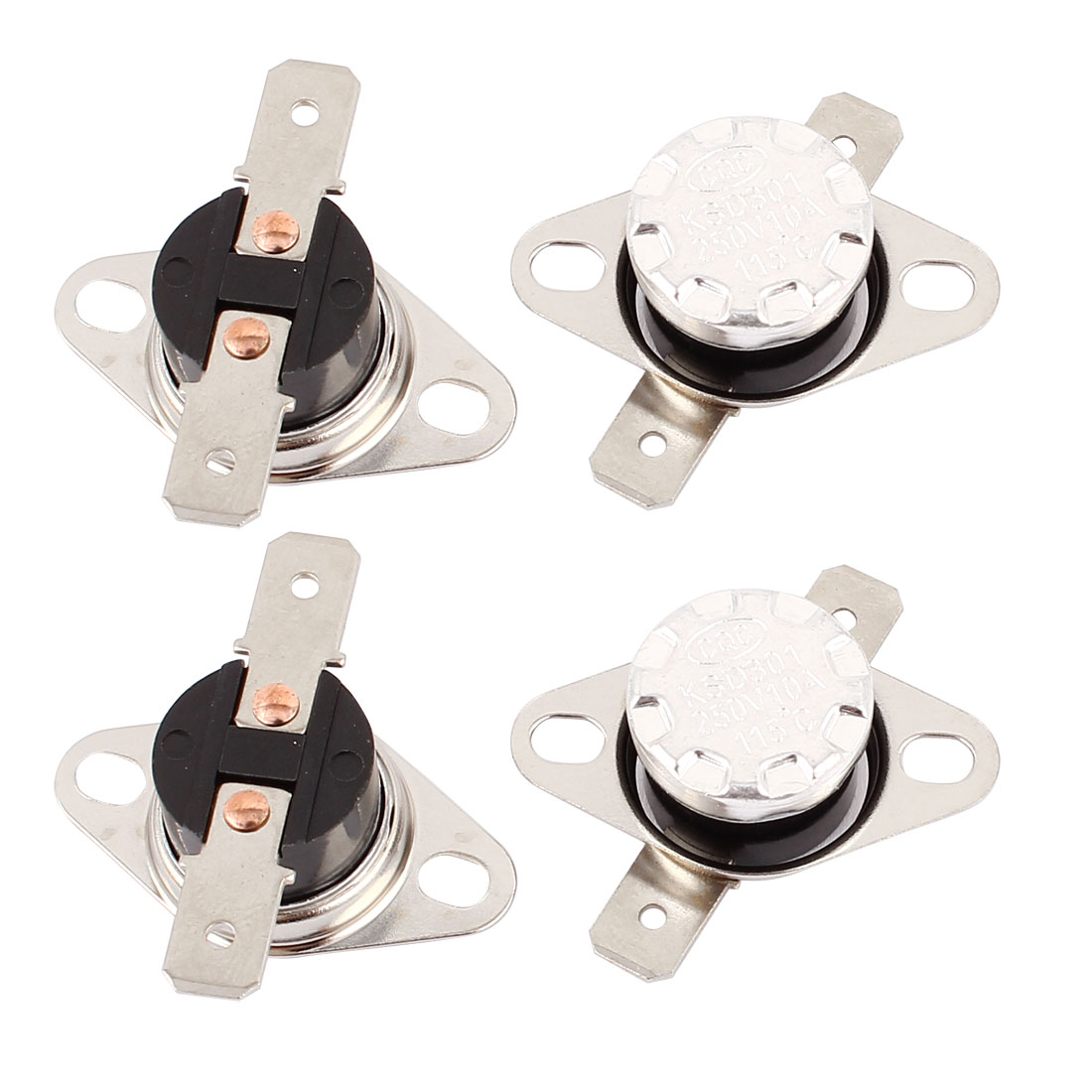 4PCS KSD301 115C 239F NC Thermostat Temperature Thermal Control Switch