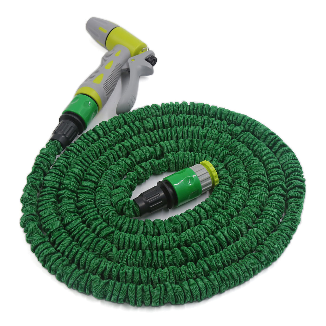 3 Meter Green Flexible Hose Car Home Garden Water Spray Gun Sprayer Sprinkler Washing Tool