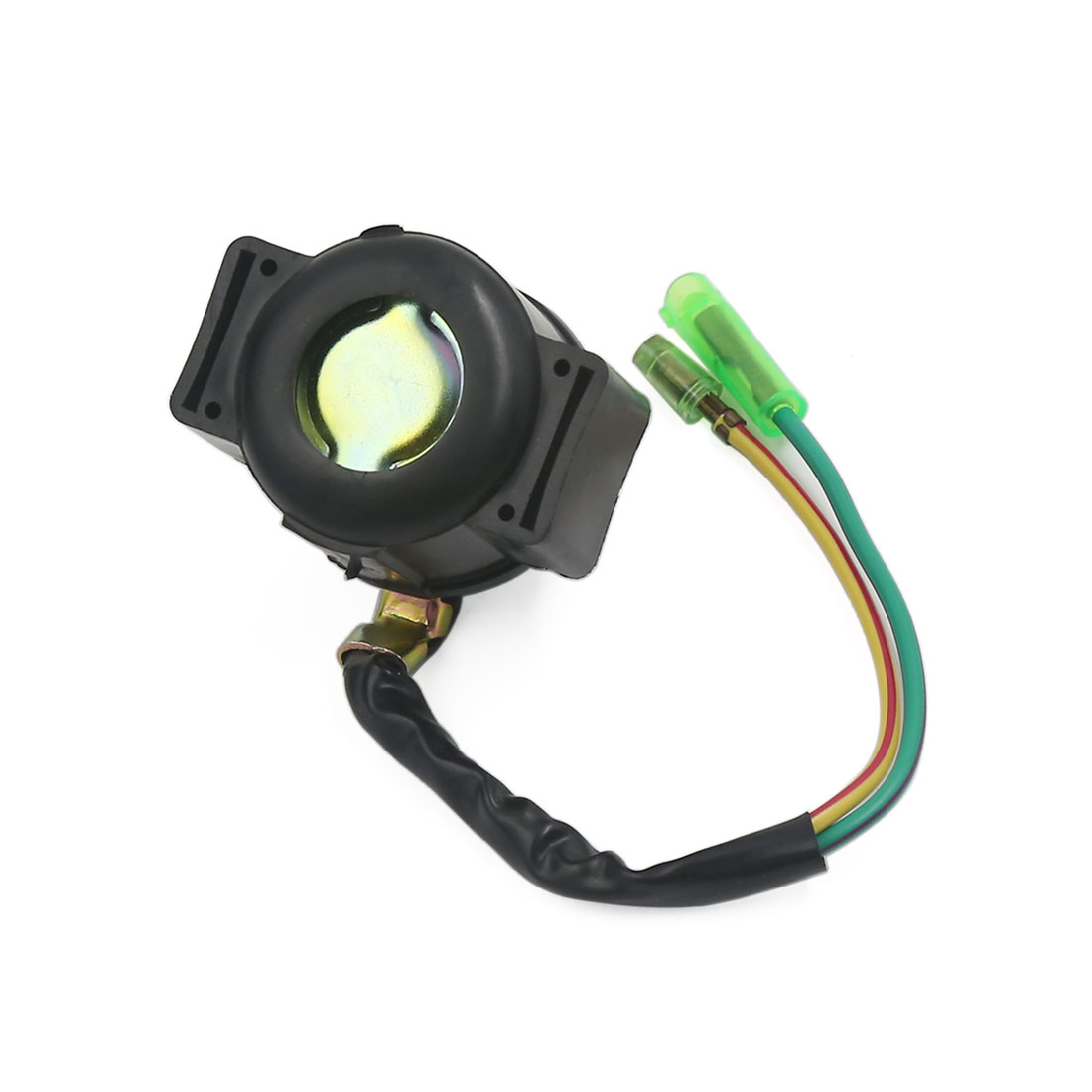 Black Pre-wired Motorcycle Motor Solenoid Starter Relay Fits Honda TRX250