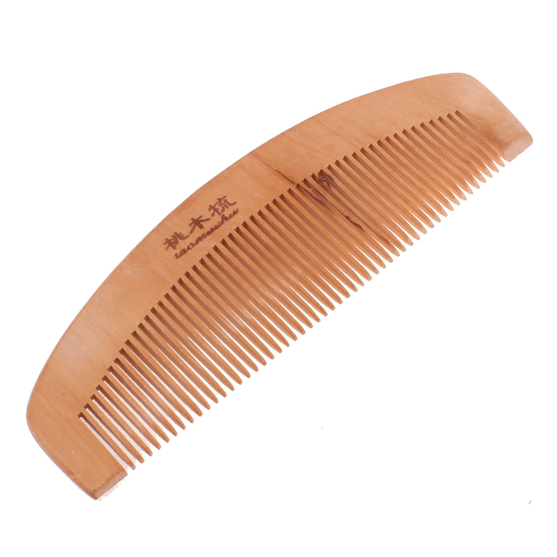 16cm Length 5cm Width Wooden Chinese Style Portable Hair Care Head Massage Comb