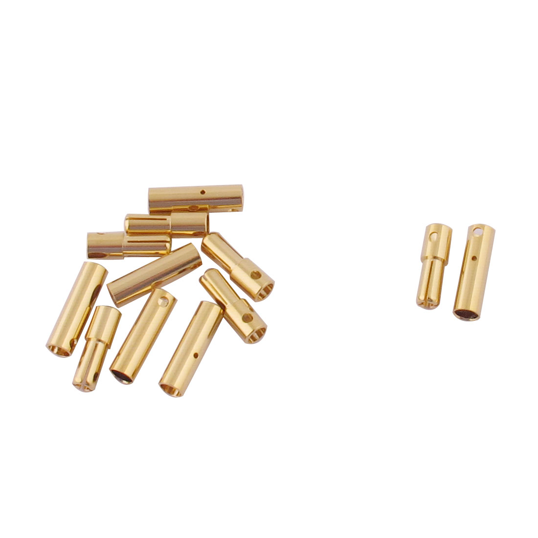 ESC RC LiPo Battery 4mm Male Female Banana Connector Gold Tone 6 Pairs