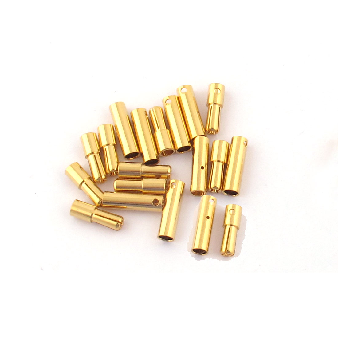 ESC RC LiPo Battery 4mm Male Female Banana Connector Gold Tone 10 Pairs