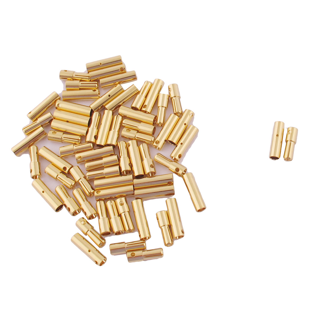ESC RC LiPo Battery 4mm Male Female Banana Connector Gold Tone 30 Pairs