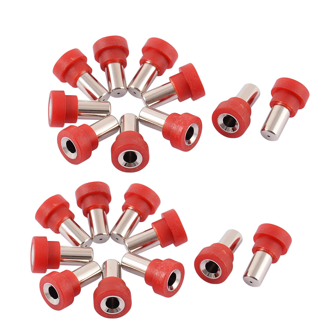 20pcs 4mm Red Banana Female Connector Socket Audio Speaker Cord Coupler Adapter for RC Airplane