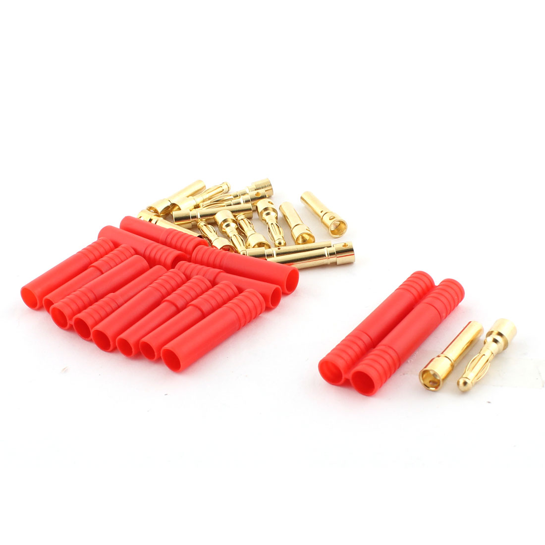 RC Model Battery 4mm Male Female Banana Connector 8 Pairs w Housing
