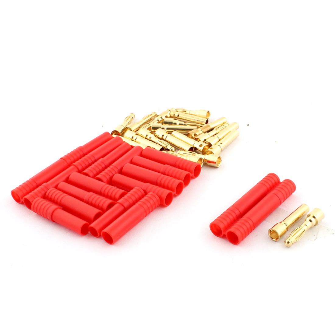 RC Model Battery 4mm Male Female Banana Connector 10 Pairs w Housing