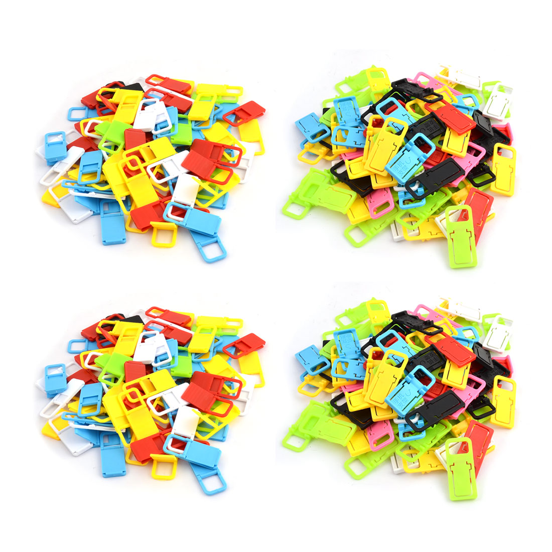 Plastic Foldable Mini Mobile Cell Phone Desk Stand Holder Assorted Color 300pcs