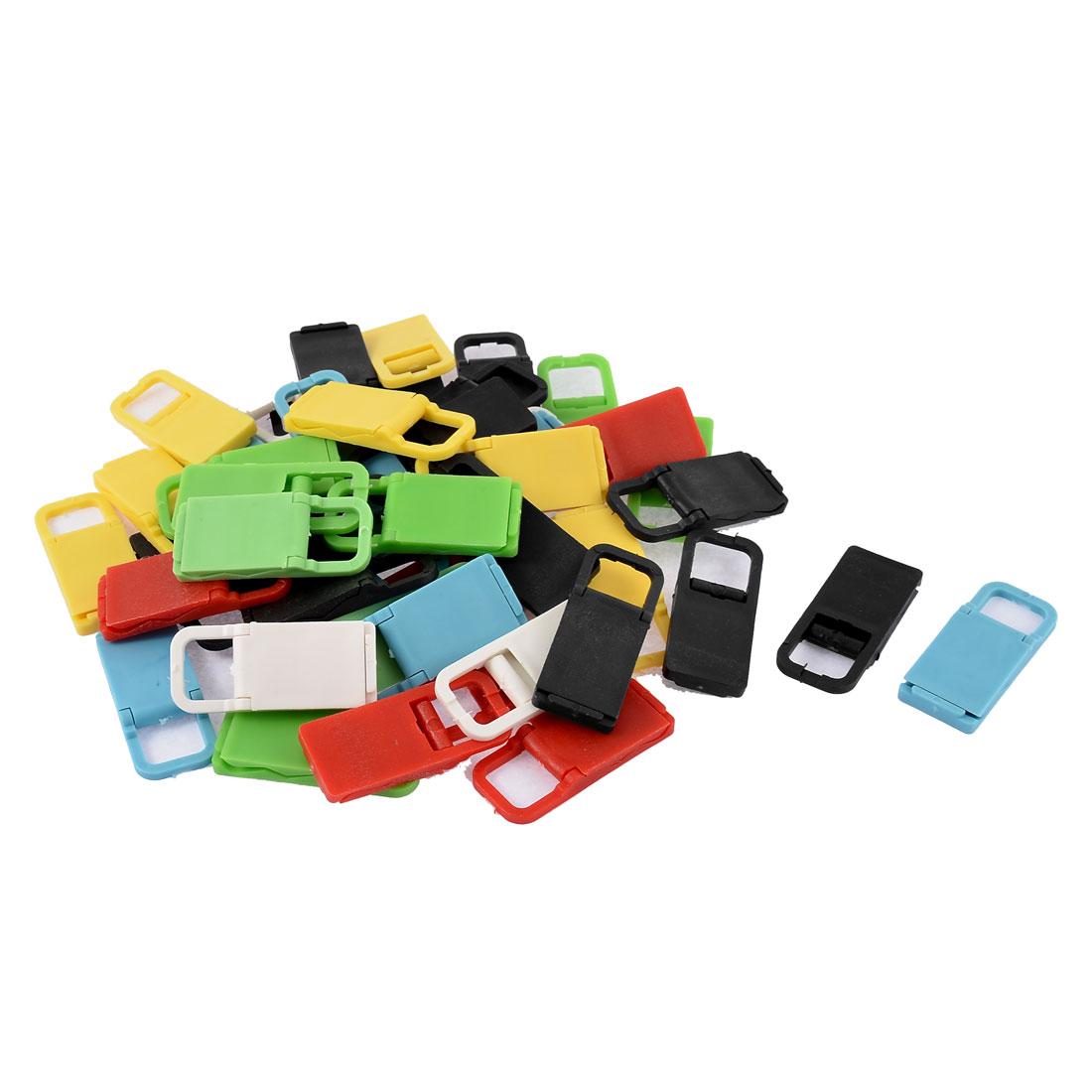 50pcs Multicolor Plastic Foldable Desktop Tablet Mobile Phone Holder Stand Support