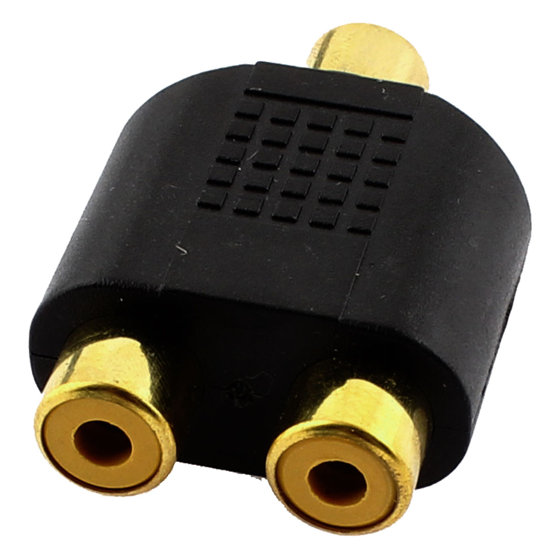 RCA Female to Dual RCA Female Jack Splitter Video Audio Adapter Connector Converter