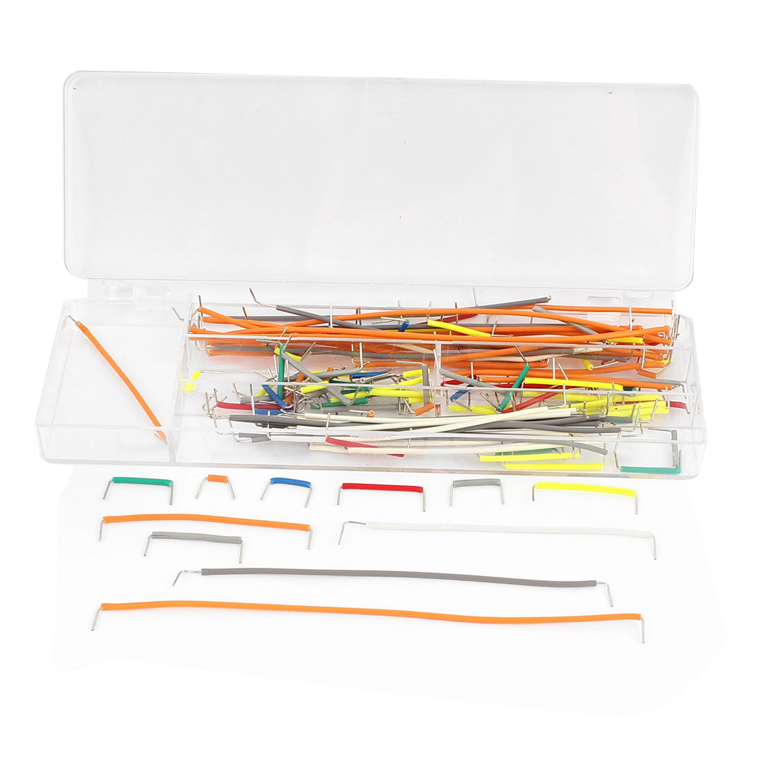 140 in 1 Solderless Breadboard Board Jumper Cable Wire Kit Set